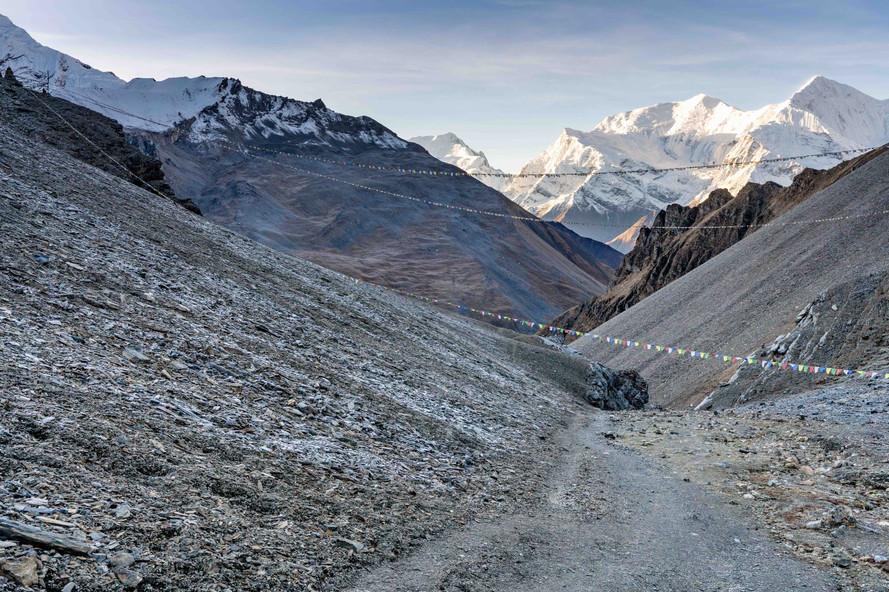 The Annapurna Loop near High Camp