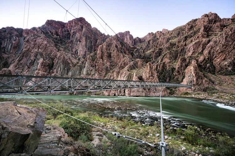 Silver Bridge near Phantom Ranch