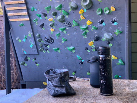 The Home Wall: designing and building an affordable, small, free-standing bouldering wall