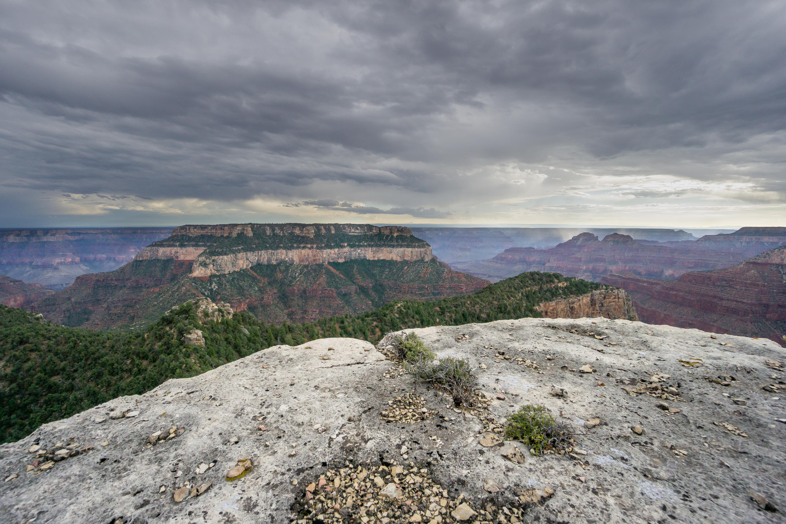 Storm over Grand Canyon