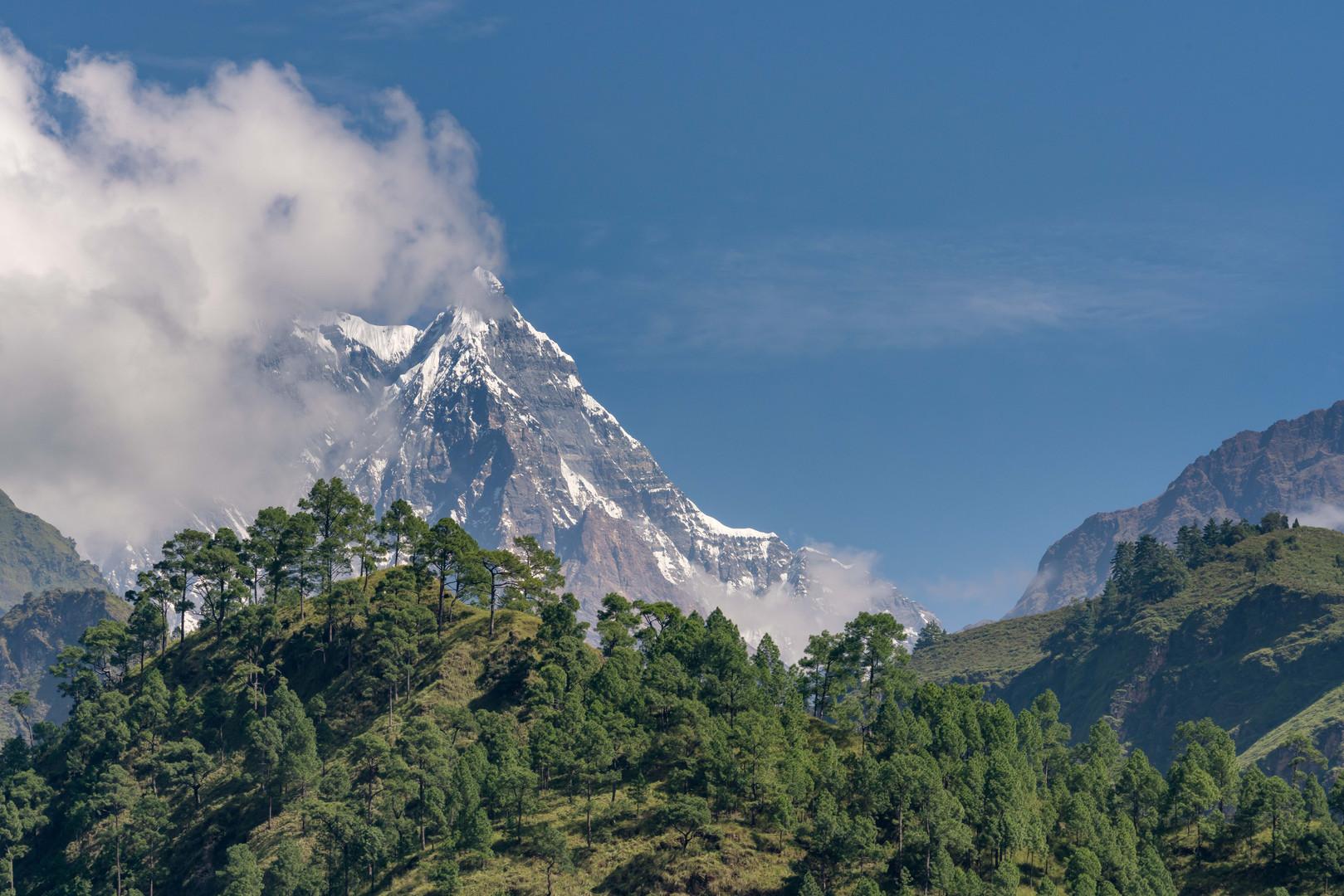 Western side of Annapurna
