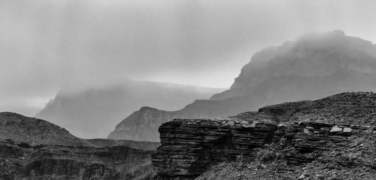 Storms over the Grand Canyon