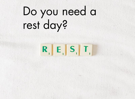 Do You Need a Rest Day?