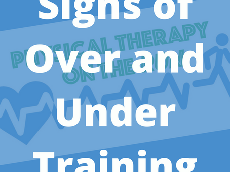 Signs that You are Over or Under-Training