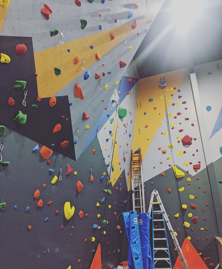 The New Climbing Wall