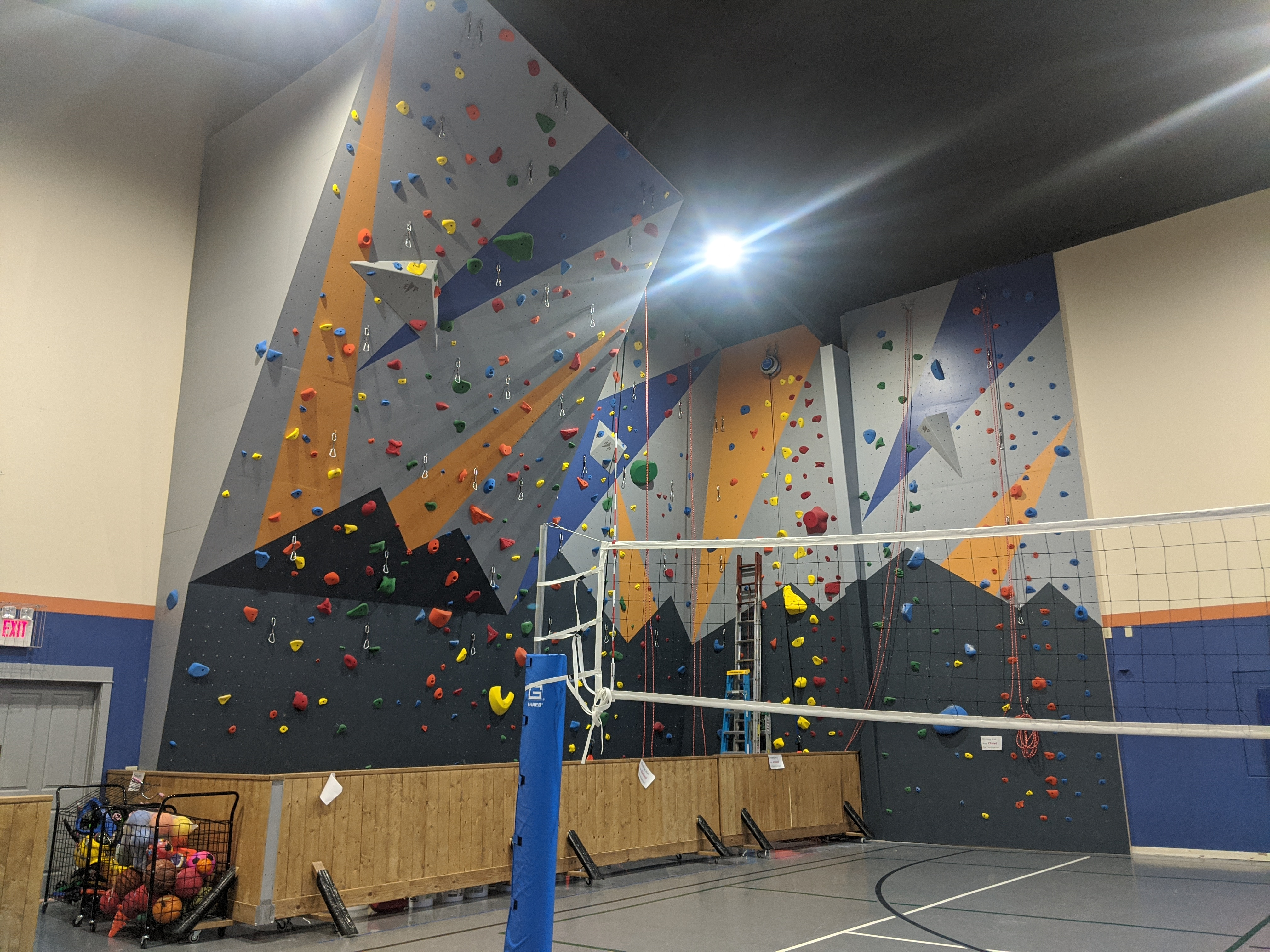 Our New Climbing Wall Feb 2020