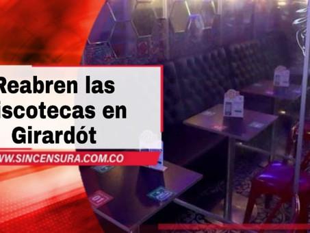 Luz verde para las discotecas en Girardót Cundinamarca