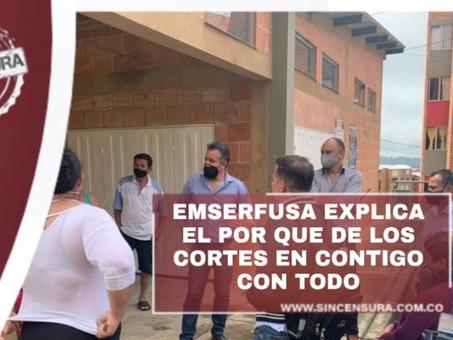 """Gerente, René Ballén Villamarín, estuvo dialogando con habitantes del sector de """"Contigo con Todo"""