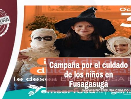 Gran campaña por los niños en Fusagasugá