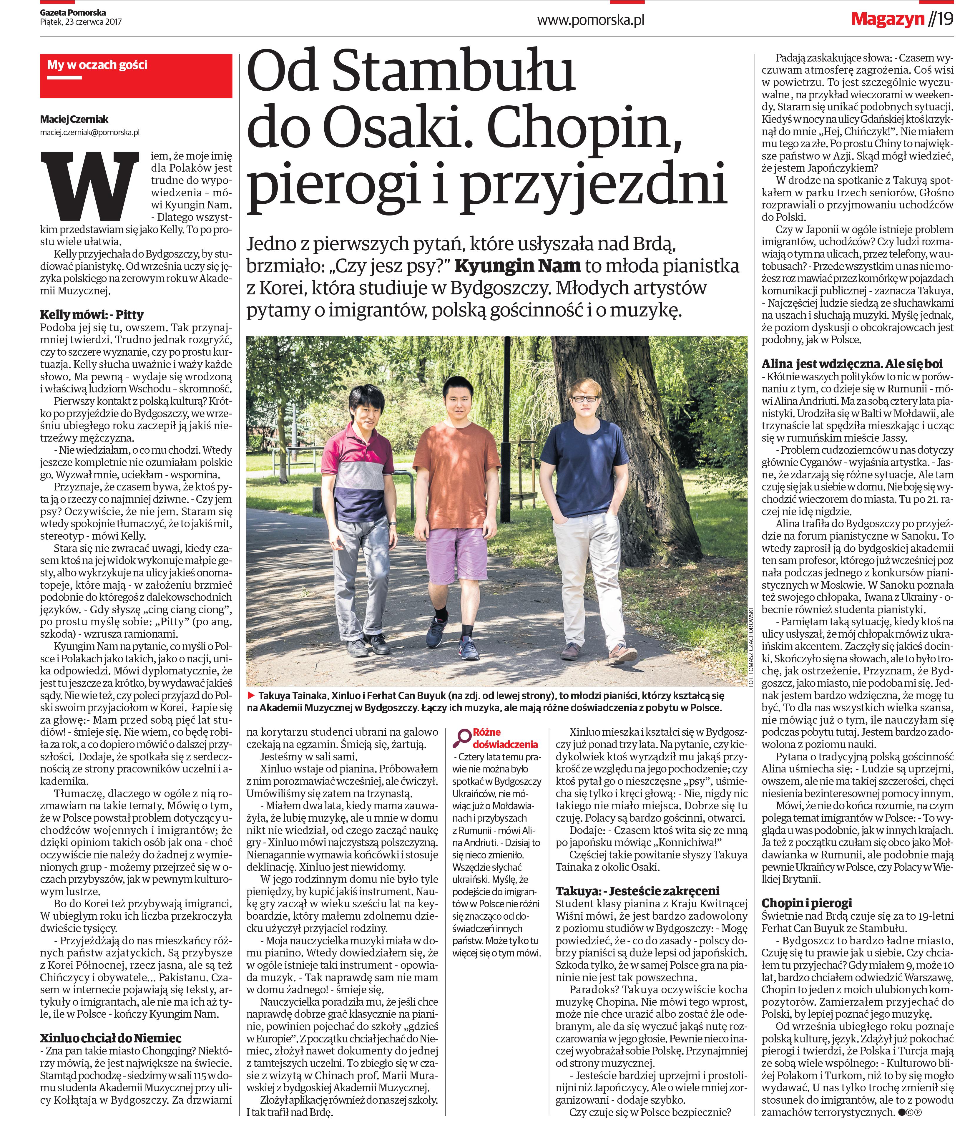 Gazeta Pomorska - Polonya 2017
