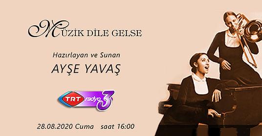 Ferhat Can Büyük is on TRT3 Radio