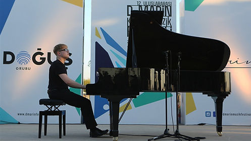 Ferhat Can Büyük performed a concert in the D- Marin Classical Music Festival