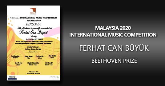 F. C. Büyük Won The Best Beethoven Performance Award