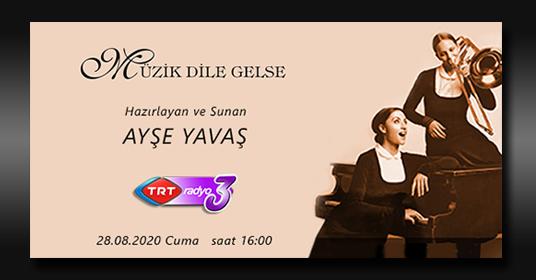 Ferhat Can Büyük TRT Radyo'ya Konuk Oluyor
