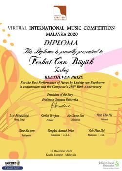Malaysia 2020 Beethoven Prize