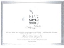 Meriç Soylu 1. lik Ödülü