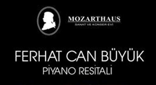 Ferhat Can Büyük Mozarthaus'da Anakara'lı müzikseverler ile buluşuyor.