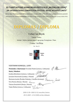 MWL 20'th Certificate
