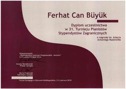 Antonin Grand Prize Diplom Copy