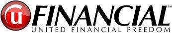 United Financial Freedom - Logo 1 white.