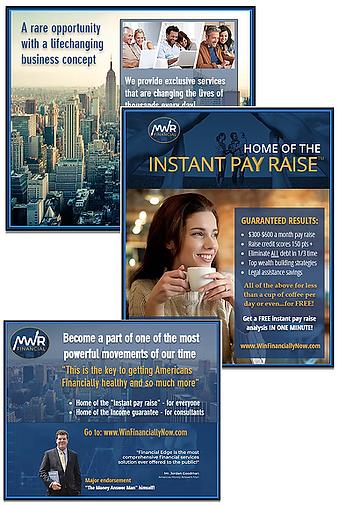 MWR-Financial- screenshot - ads collage