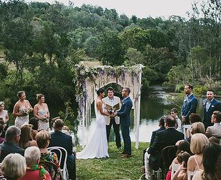 Castaways - wedding on the riverbank ima