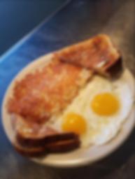 Tom Sawyers - Food image - Eggs toast ha