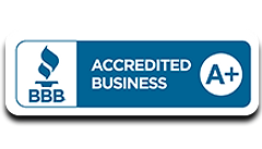 BBB Accredited Business - A + rating ima