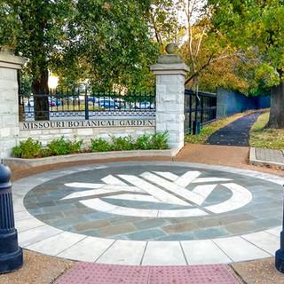 Missouri Botanical Garden Streetscape