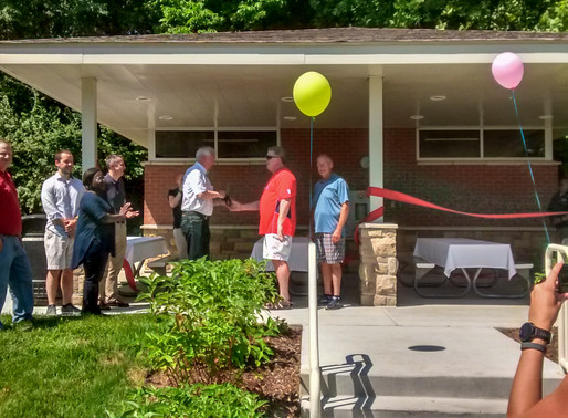 Oak Tree Park Ribbon Cutting