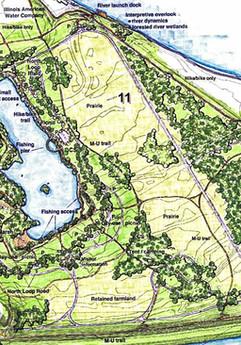 Chouteau Island Master Plan