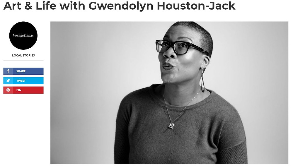 Cover image for the Voyage Dallas article on Gwendolyn Houston-Jack.