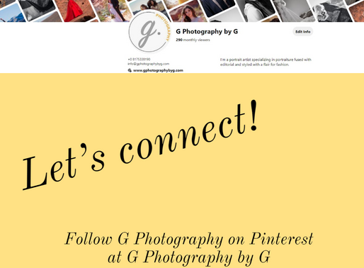 Let's Connect...On Pinterest!