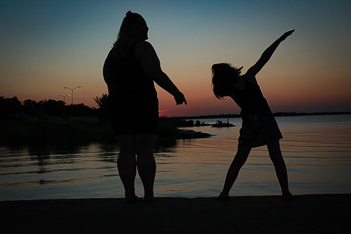 auntie niece photo session joe pool lake sunset grand prairie texas g photography family photos #2
