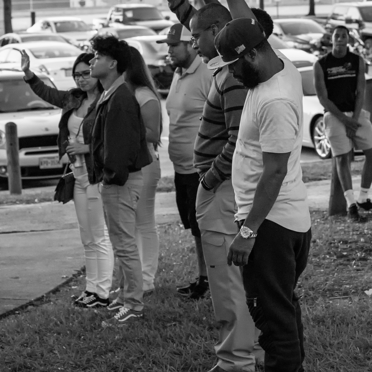 Darian Bolden Candlelight Vigil Houston Texas Hiram Clarke G Photography Arlington Photographer Gwendolyn Houston Jack