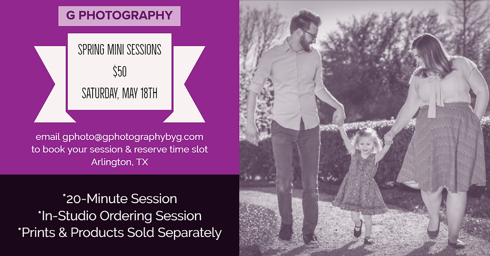 May Mini Sessions