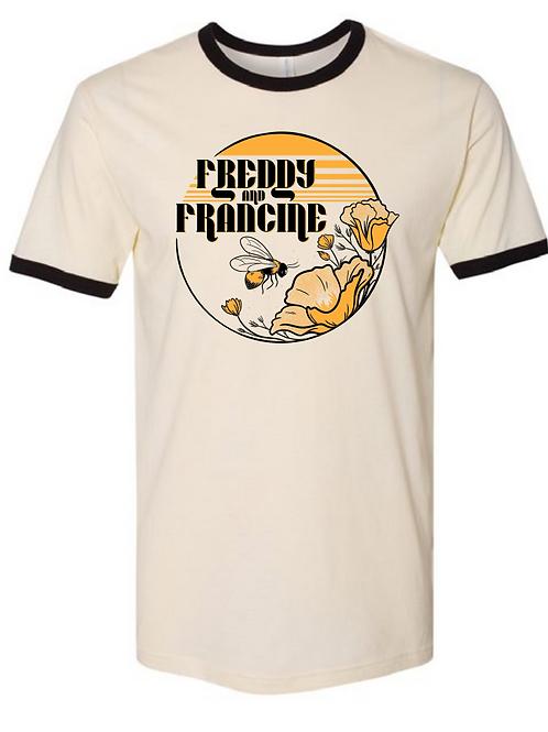 F&F Bumble Bee Ringer T-Shirt