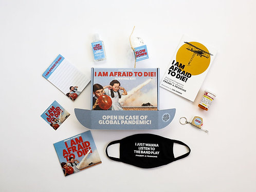 *Limited Edition* I AM AFRAID TO DIE! Survival Kit