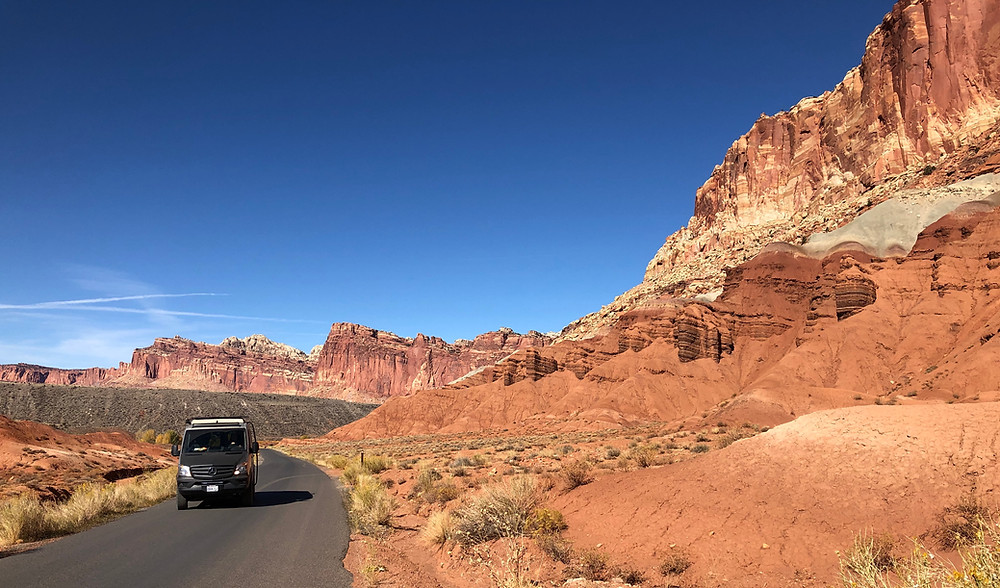 Capitol Reef National Park - see our complete road trip itinerary at Paradox Travels Photo: Jen Stover