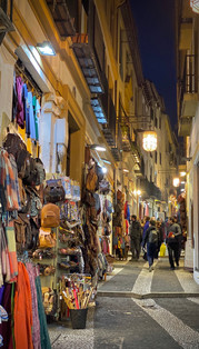 Shopping in the Albaicin neighborhood, Granada, Spain - See our complete Southern Spain road trip itinerary at Paradox Travels