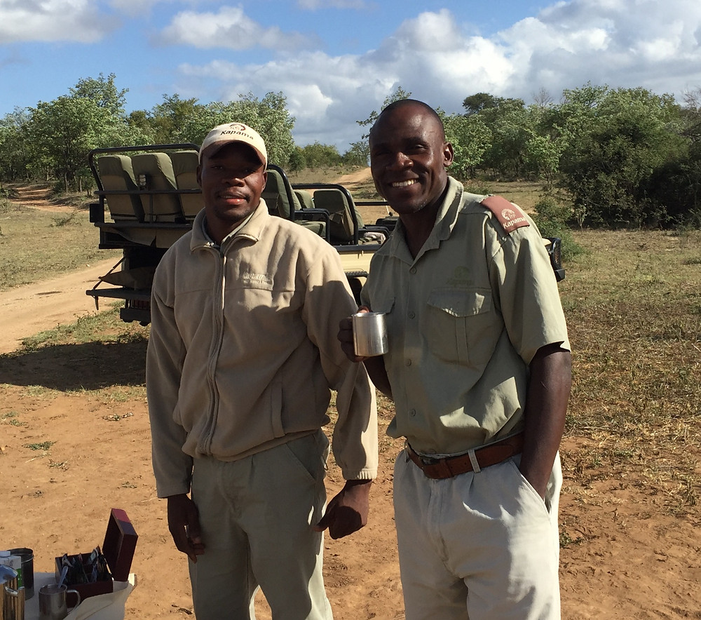Our South African safari guides - www.paradoxtravels.com