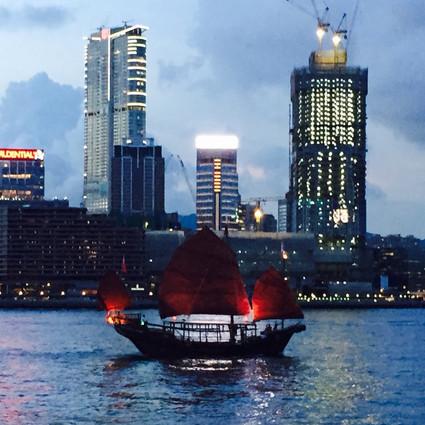 Red Junk ferry Hong Kong
