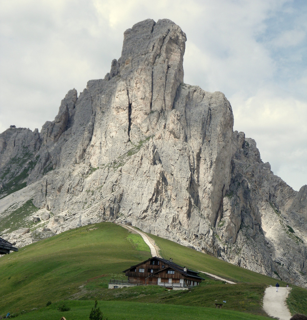 Refugio Pass Giau - the Dolomites, Italy