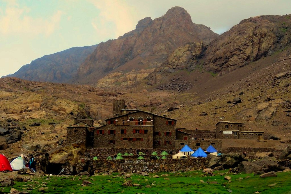 Active travel at the base of Mt Toubkal