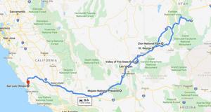 Road trip through Utah - see our complete itinerary at www.paradoxtravels.com/camper-van-road-trip