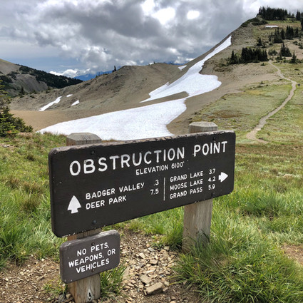 Obstruction Point, Olympic