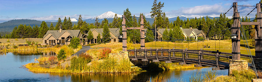 Caldera Springs Sunriver Resort, OR - photo courtesy of Caldera Springs