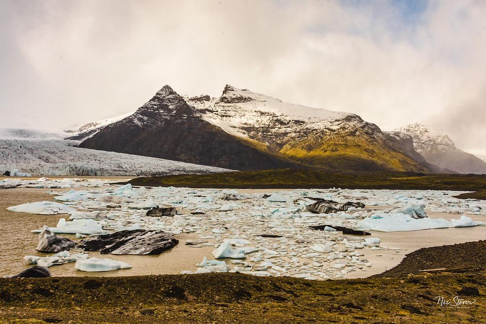 Fjallsarlon Glacier Lagoon, Iceland  Photo credit: Nic Stover
