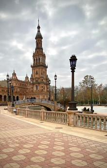 Plaza de Espana - Seville, Spain - see complete Southern Spain road trip itinerary at Paradox Travel
