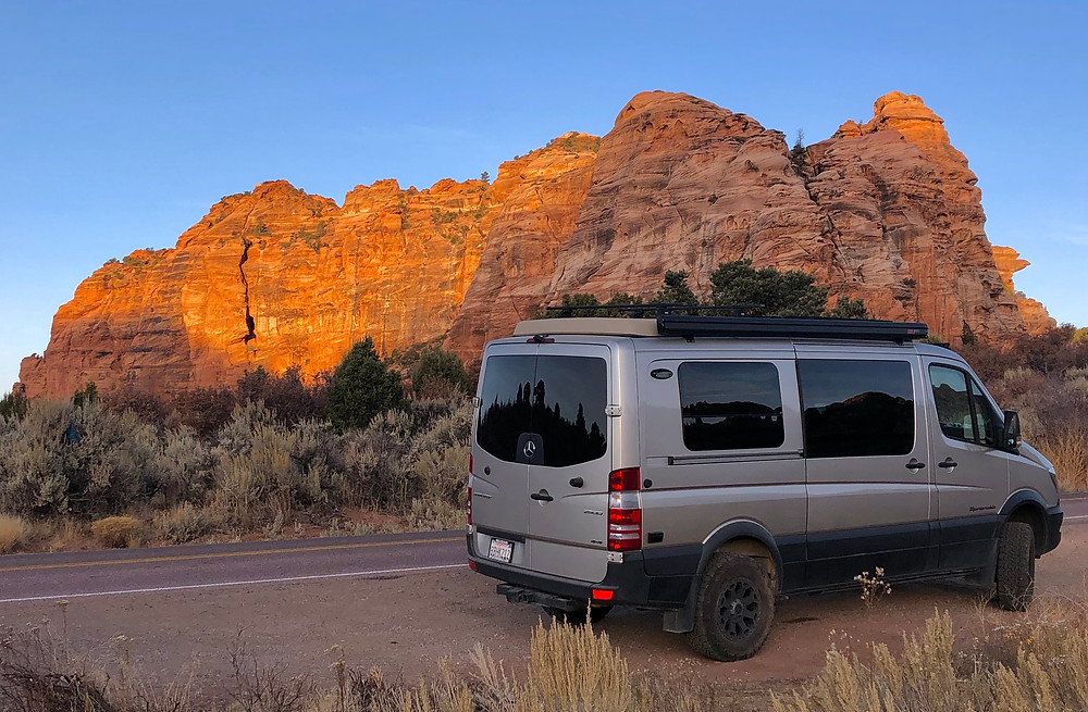 Zion National Park - see our complete road trip itinerary at Paradox Travels  Photo: Jen Stover
